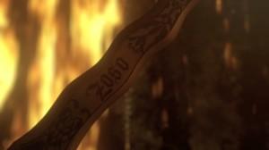 Zoso on the dagger