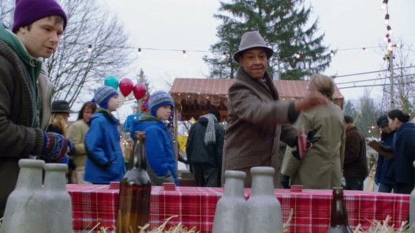 Dopey running ring toss game at miners day-ouat s01e14
