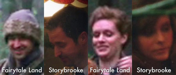 Jefferson's neighbors in Fairytale Land and Storybrooke-s01e17