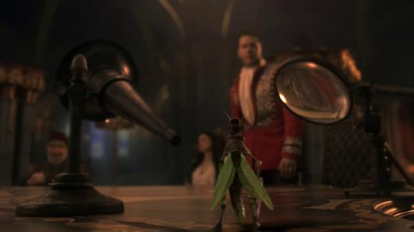 Jiminy Cricket at the royal counsel (Pilot-s01e01)