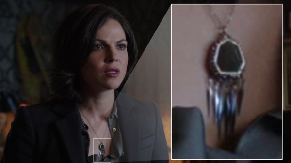 Regina's black necklace (The Return-s01e19)