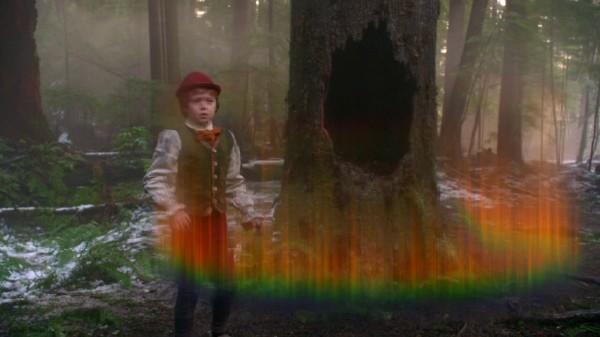 Emma comes through the tree (The Stranger-s01e20)