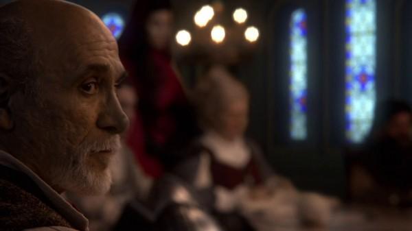Geppetto at kingdom council (The Stranger-s01e20)