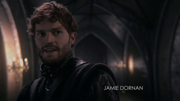 Jamie Dornan is back as the Huntsman (A Land Without Magic-s01e22)