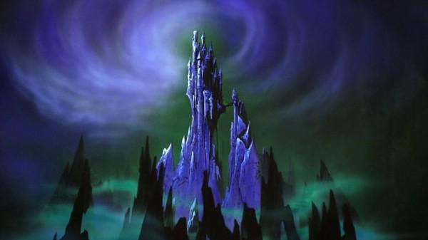 Maleficent's castle (Sleeping Beauty)