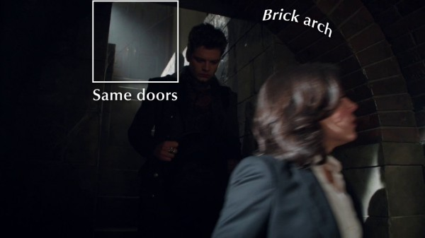 Stairway to Regina's vault (An Apple Red as Blood-s01e21)