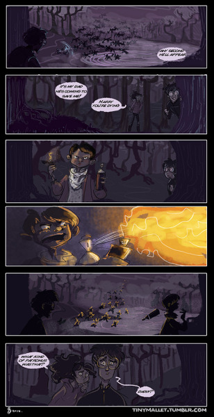Once Upon a Time Harry Potter comic