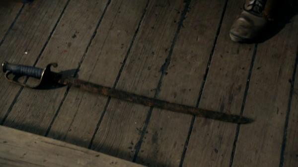 Rusty sword given to Rumplestiltskin (The Crocodile-2x04)