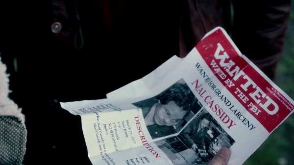 Neal Cassidy's wanted poster (Tallahassee-2x06)