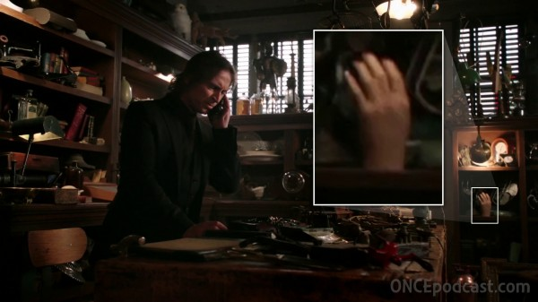Hand in Mr Gold's workshop (The Outsider-2x11)