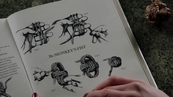 Monkey's Fist knot (The Outsider-2x11)