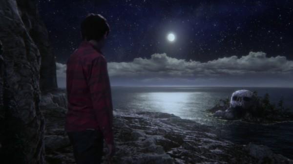 Henry looking at Skull Rock (3x07 Dark Hollow)