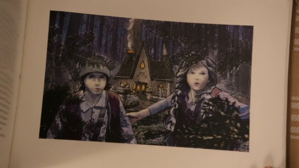 3x10 The New Neverland Hansel and Gretel Page Henry's Book