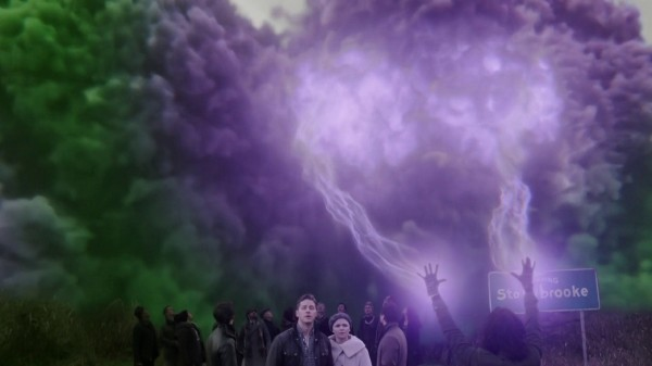 Green smoke turns purple (3x11 Going Home) Once Upon a Time podcast