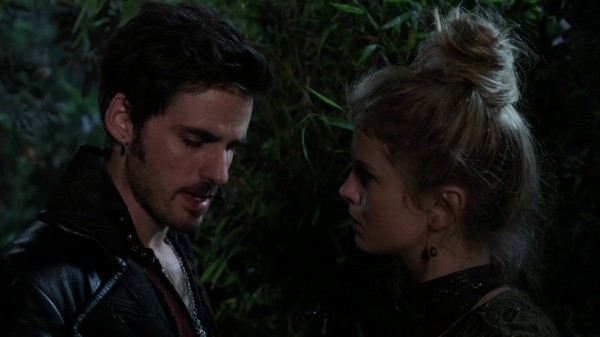 Hook and Tink meet in Neverland (3x11 Going Home)