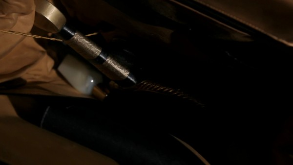 David's courage in Zelena's bag (3x14 The Tower)