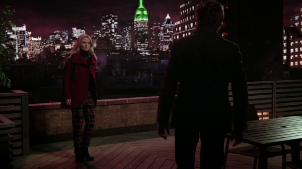 Emma with Walsh on the balcony (3x12 New York City Serenade) Once Upon a Time podcast