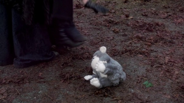 Flying Monkey Turned Into Stuffed Monkey - 3x13 Witch Hunt
