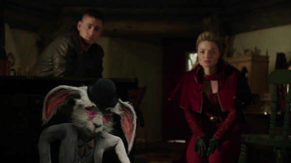 The Red Queen Seeking Forgiveness From The White Rabbit - 1x10 Dirty Little Secrets