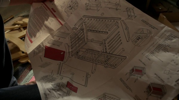 Instructions for building crib (3x17 The Jolly Roger)