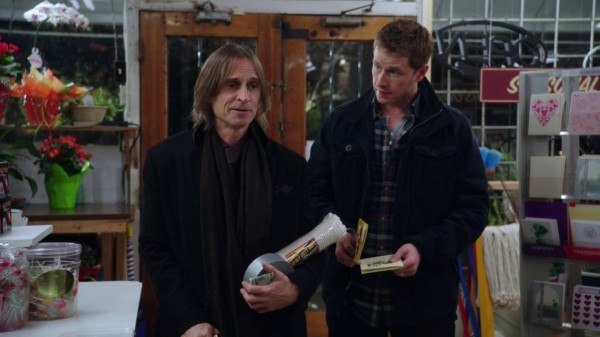 Mr. Gold purchases duct tape and rope in Skin Deep (3×19 A Curious Thing)