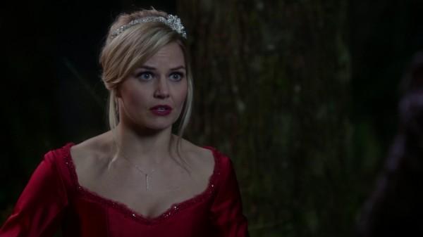 Emma Red Ballgown - 3x21 Snow Drifts