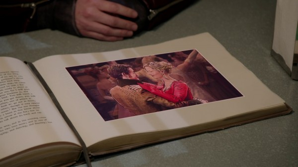 Prince Charles and Princess Leia in the book - Once Upon a Time podcast 3x22 There's No Place Like Home