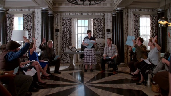 Once Upon a Time 4x03 Rocky Road - Mary Margaret First Fireside Chat as Storybrooke Mayor