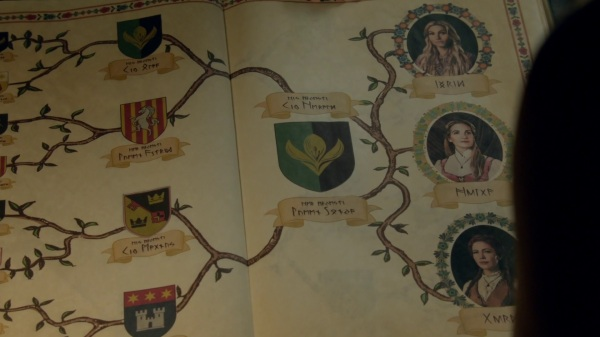 Once Upon a Time 4x06 Family Business - Elsa Family Tree(2)