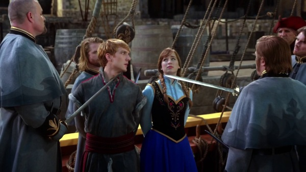 Once Upon a Time 4x09 Fall - Anna and Kristoff captured by Hans