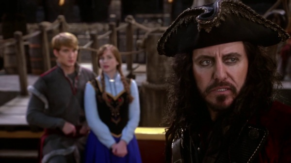 Once Upon a Time 4x09 Fall - Blackbeard talking to Anna and Kristoff
