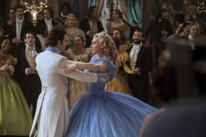 Cinderella and prince Kit dancing