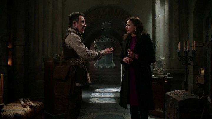 Author Isaac and Regina in the vault 4x21 Mother