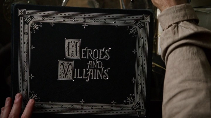 Once Upon a Time 4x21 Mother - Heroes and Villains book cover