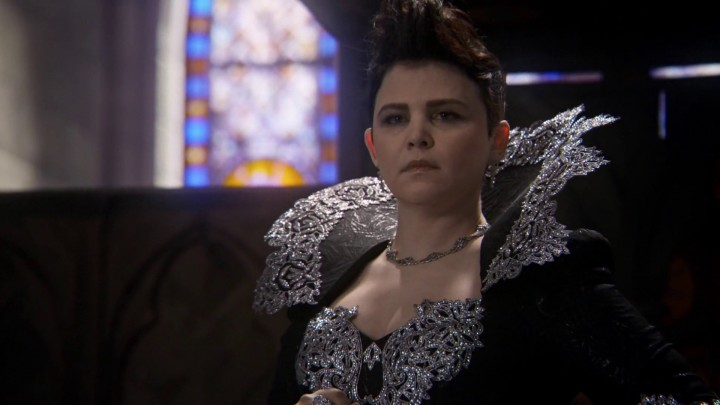 Once Upon a Time 4x22 Operation Mongoose - Evil Queen Snow White in alternate reality