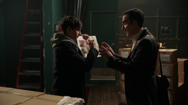 Once Upon a Time podcast 4x22 Operation Mongoose - Henry and Isaac in Isaac's alternate reality