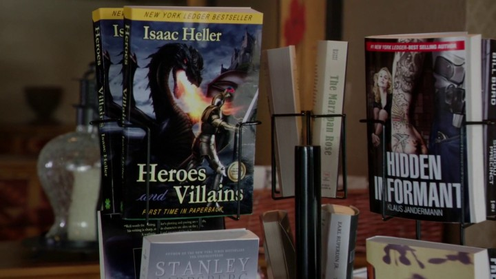 Once Upon a Time 4x22 Operation Mongoose - Heroes and Villains book Isaac Keller front cover