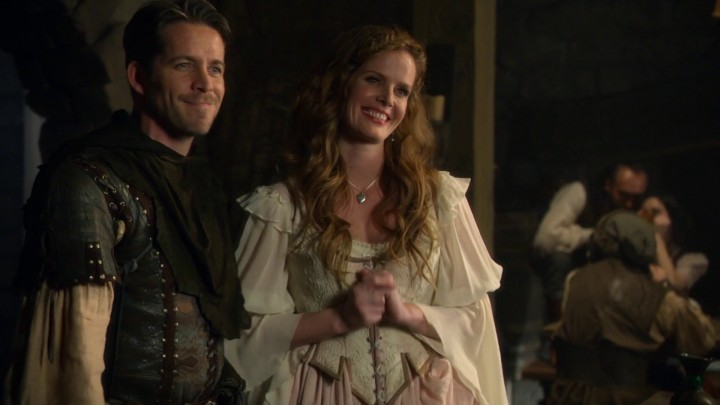Once Upon a Time 4x22 Operation Mongoose - Robin Hood and Zelena in alternate reality