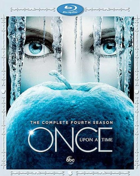 Once Upon a Time podcast - Once Upon a Time season 4 Blu-Ray DVD Cover