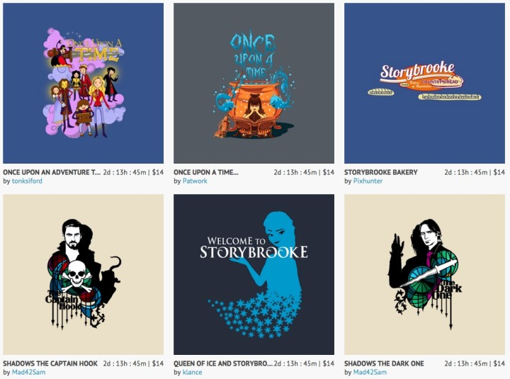 Once Upon a Time T-shirts 1