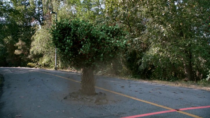 Once Upon a Time 5x02 The Price - Dopey turns into a tree