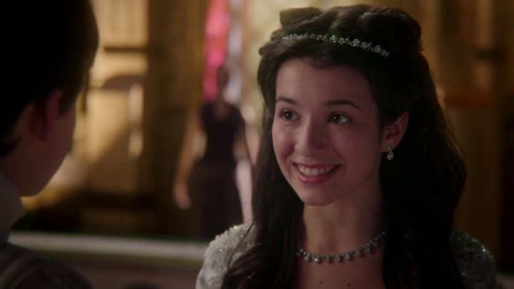Once Upon a Time 5x02 The Price - Henry and Violet at the ball in Camelot