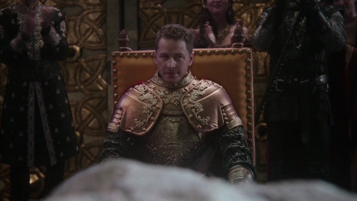 Once Upon a Time 5x03 Siege Perilous - Charming seating at siege perilous