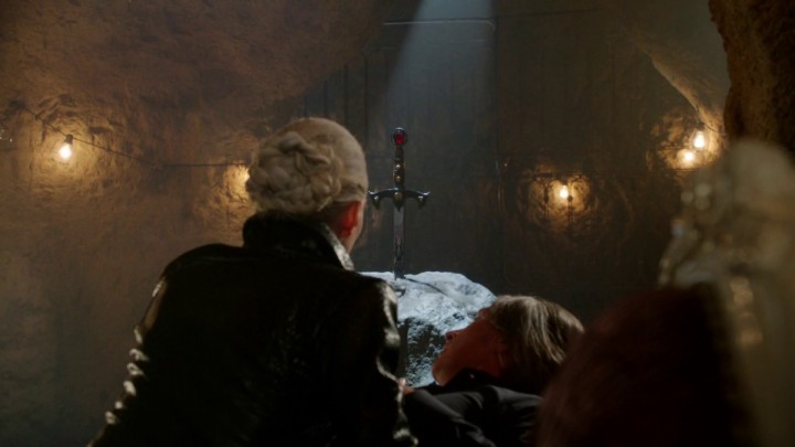 Once Upon a Time 5x03 Siege Perilous - Dark One Emma and Rumplestiltskin