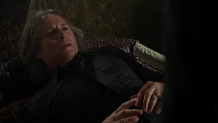 Once Upon a Time 5x03 Siege Perilous - Rumplestiltskin wakes up from coma