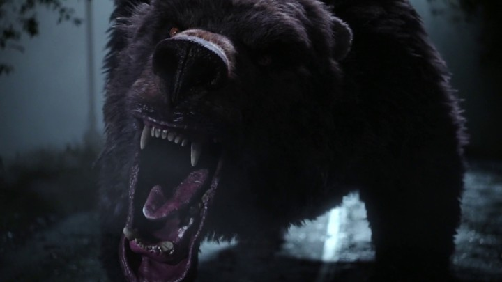 Once Upon a Time 5x06 The Bear and the Bow - Merida turns into a bear