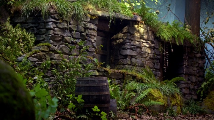 Once Upon a Time 5x06 The Bear and the Bow - The Witch's Hut from Brave