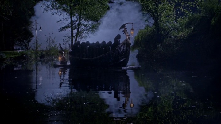 Once Upon a Time 5x10 Broken Heart - Nimue and other Dark Ones in the pond