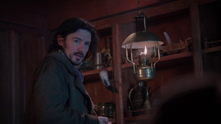 Once Upon a Time 5x11 Swan Song - Brennan Jones Hook's father