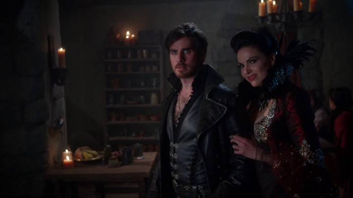 Once Upon a Time 5x11 Swan Song - Evil Queen tests Captain Hook